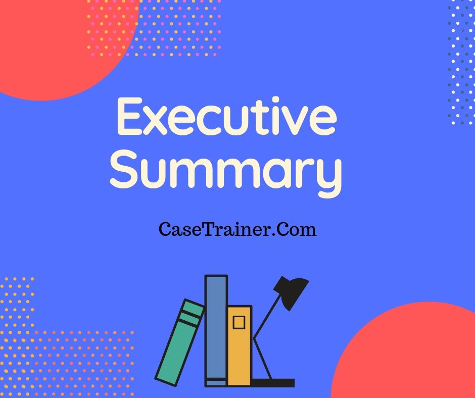 Executive 0Summary